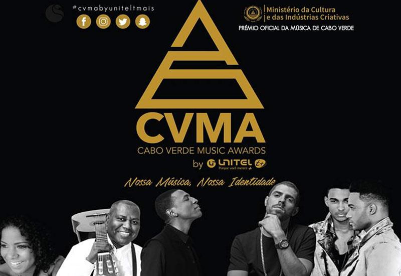 VII Gala CVMA by Unitel T+ com actuação musical de Calema, Richie Campbell, Thierry Cham e Chando Graciosa, na FIC