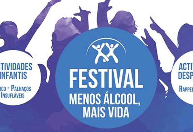 Festival Menos Álcool Mais Vida, na praia da Gambôa