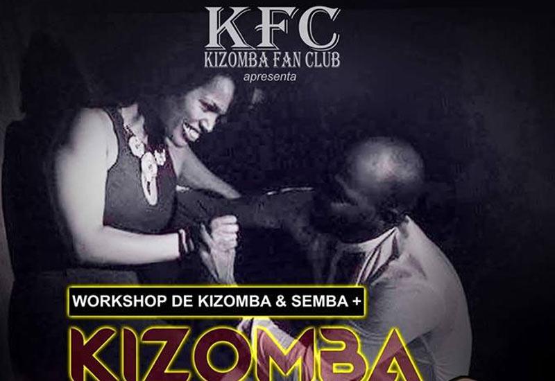 Kizomba Night, no Club Syrius