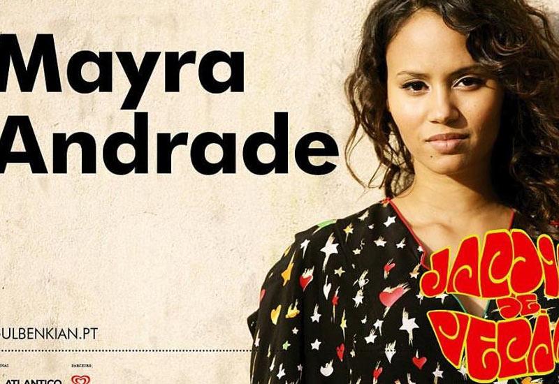 Mayra Andrade, nos Jardins da Gulbenkian