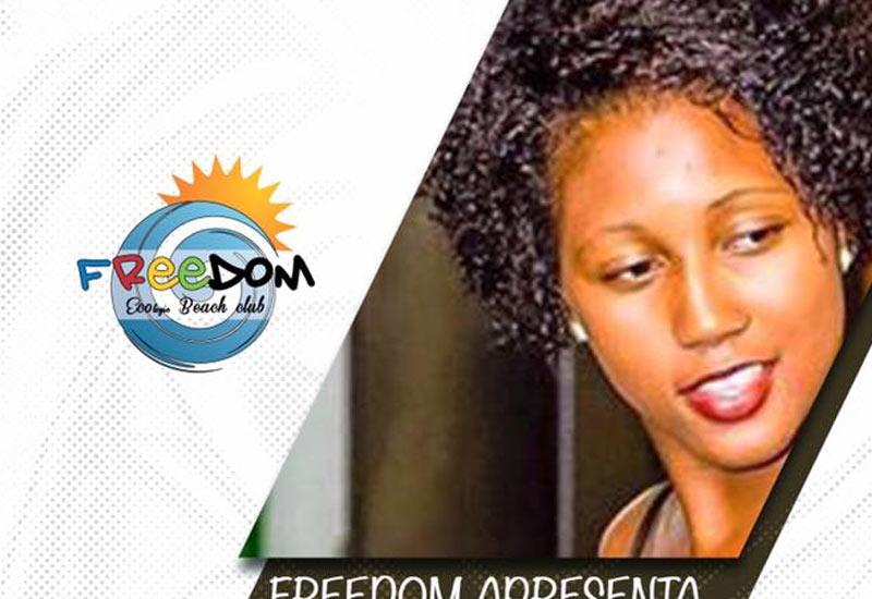 Ronilda Ramos, no Espaço Freedom
