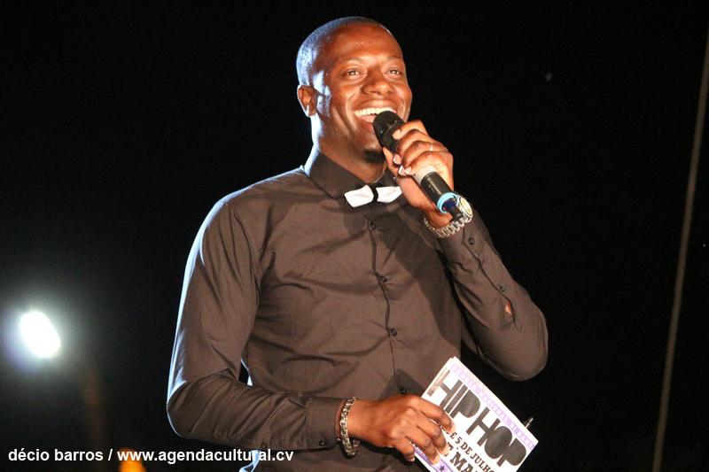 MC Sarabudja, apresentador do evento