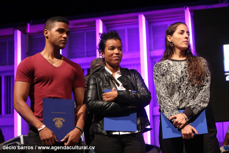 Vencedores da Bolsa Berklee: Khaly Angel, Nelly e Sara Alhinho